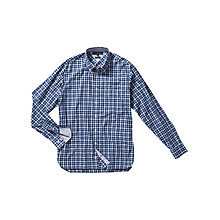 Buy Tommy Hilfiger Clover Check Shirt, Estate Blue Online at johnlewis.com