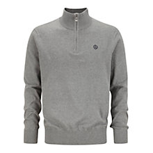 Buy Henri Lloyd Zip-Up Jumper, Grey Online at johnlewis.com