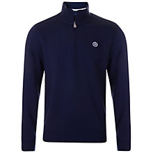Buy Henri Lloyd Leeward 1/2 Zip Jumper, Navy Online at johnlewis.com