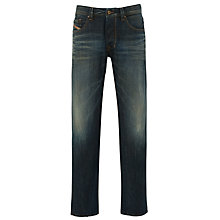 Buy Diesel Larkee 00CKRK Straight Jeans, Stonewash Online at johnlewis.com