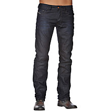 Buy Diesel Larkee 806X Straight Leg Jeans, Indigo Wash Online at johnlewis.com