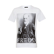 Buy Selected Homme Freud T-Shirt Online at johnlewis.com