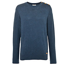 Buy Selected Homme Nolan Split Button Jumper Online at johnlewis.com