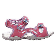 Buy Geox Roxanne Sandals, Fuchsia Online at johnlewis.com