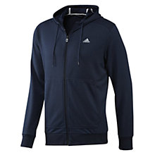 Buy Adidas Prime Zip Through Hoodie, Collegiate Navy/Tech Grey Online at johnlewis.com