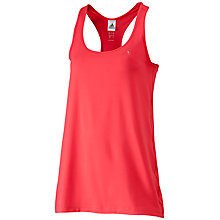 Buy Adidas Essentials MF Tank Top, Red Online at johnlewis.com