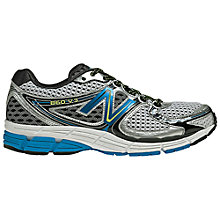 Buy New Balance Men's 860 Stability Running Shoes, Silver/Blue Online at johnlewis.com