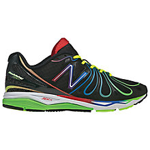 Buy New Balance Men's M890 Speed RB3 Running Shoes, Black/Red Online at johnlewis.com