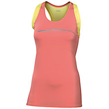 Buy Asics Women's Running Tank Top, Coral/Yellow Online at johnlewis.com