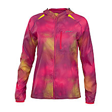 Buy Asics Fuji Women's Running Jacket, Purple Online at johnlewis.com