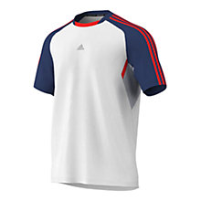 Buy Adidas CLIMACOOL Ref Short Sleeve T-Shirt Online at johnlewis.com