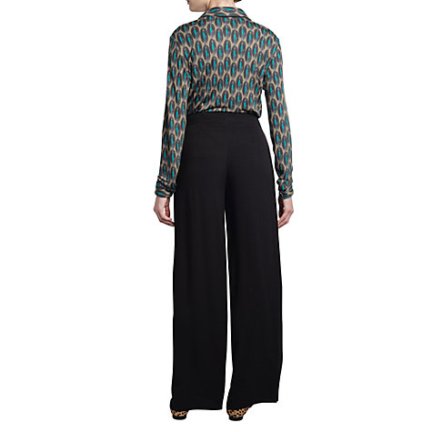 Buy allegra by Allegra Hicks Mary Trousers, Black Online at johnlewis.com