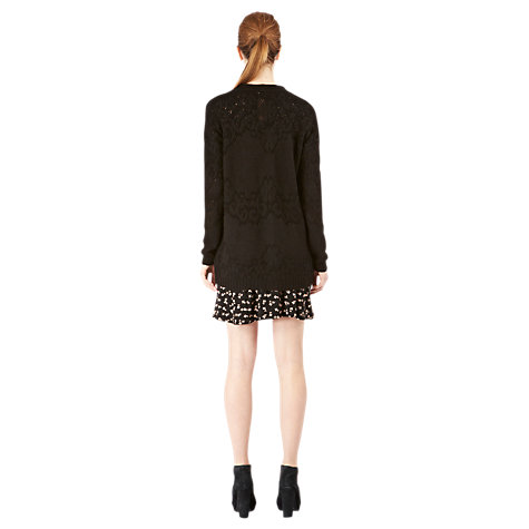 Buy Warehouse Placed Pointelle Cardigan Online at johnlewis.com