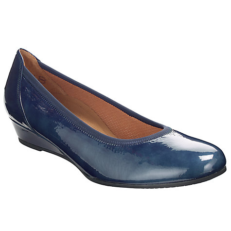 Buy Gabor Chester Wedge Heel Court Shoes Online at johnlewis.com