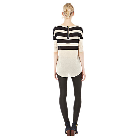 Buy Warehouse Striped Yoke Jumper Online at johnlewis.com