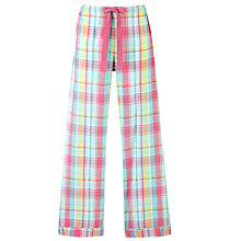 Buy John Lewis Checked Pyjama Bottoms, Multi Online at johnlewis.com