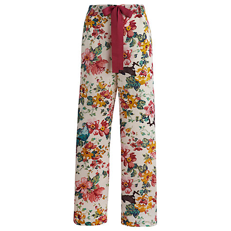 Buy Joules Fleur Sunbird Pyjama Bottoms, Multi Online at johnlewis.com