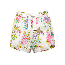 Buy John Lewis Floral Print Pyjama Shorts, Multi Online at johnlewis.com