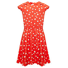 Buy Yumi Girls Ladybird Print Dress, Red Online at johnlewis.com