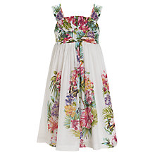 Buy Derhy Kids African Moon Sundress, White Online at johnlewis.com