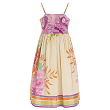Buy Derhy Kids Floral Print Strappy Dress, Multi Online at johnlewis.com