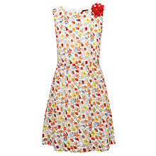 Buy Yumi Girls Lara Ditsy Flower Dress, Multi Online at johnlewis.com