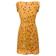 Buy Yumi Girls Lotty Floral Tea Dress, Yellow Online at johnlewis.com