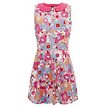 Buy Yumi Girls Angel Retro 60s Flower Power Dress, Multi Online at johnlewis.com