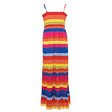 Buy Yumi Girls Zoom Stripe Maxi Dress, Multi Online at johnlewis.com