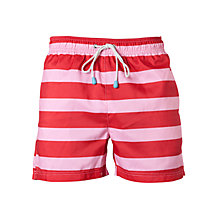 Buy Oiler & Boiler Tuckernuck Wide Stripe Swim Shorts Online at johnlewis.com