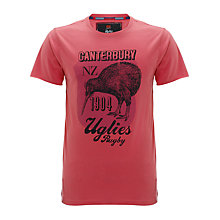 Buy Canterbury Redcliff T-Shirt, Red Online at johnlewis.com
