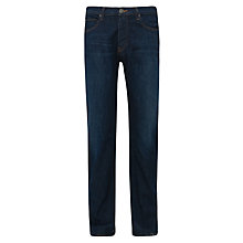 Buy Armani Jeans Stretch Cotton Jeans, Royal Online at johnlewis.com