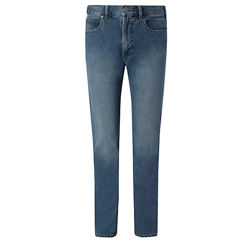 Buy Armani Jeans Light Wash Straight Jeans, Blue Online at johnlewis.com