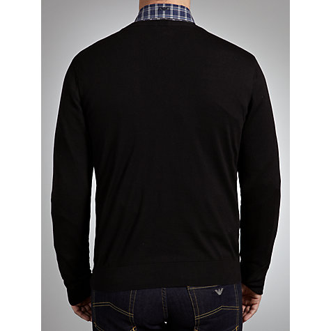 Buy Armani Jeans Crew Neck Jumper Online at johnlewis.com