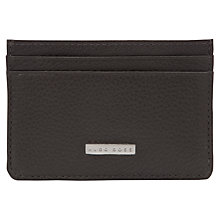 Buy Hugo Boss Baz Leather Card Holder Online at johnlewis.com