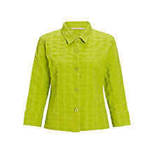 Buy John Lewis Waffle Jacket, Apple Green Online at johnlewis.com