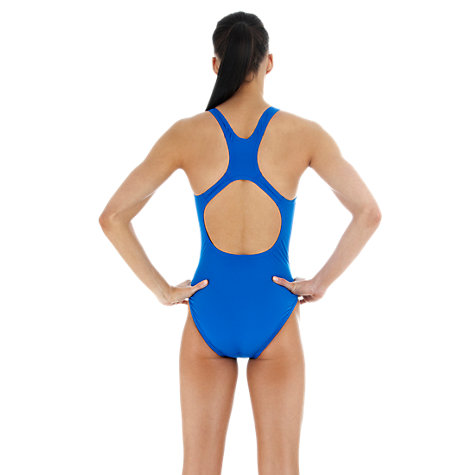 Buy Speedo Endurance+ Medallist Swimsuit, Blue Online at johnlewis.com