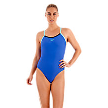Buy Speedo Powerflash Muscleback Swimsuit Online at johnlewis.com