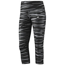 Buy Adidas Techfit Perfect 3/4 Tights Online at johnlewis.com