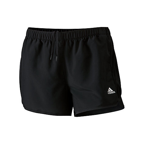 Buy Adidas Women's Training Shorts, Black Online at johnlewis.com