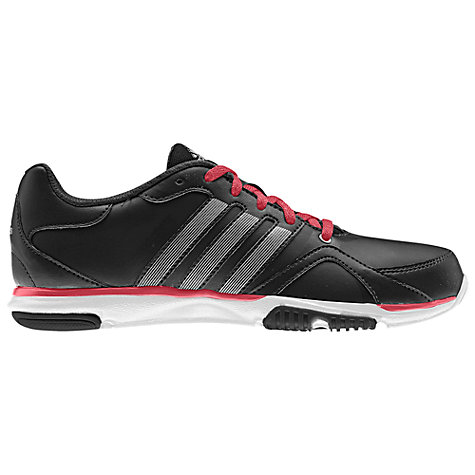 Buy Adidas Women's Essentials Star Cross Trainers, Black/Red Online at johnlewis.com