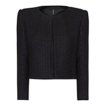 Buy Mango Cropped Boucle Jacket Online at johnlewis.com