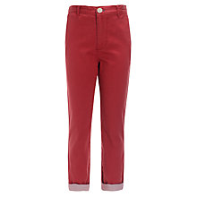 Buy Worn & Torn Skinny Turn Up Chinos Online at johnlewis.com