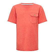 Buy Kin by John Lewis Boys' Crew Neck Pocket T-Shirt Online at johnlewis.com