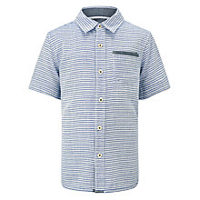Buy Kin by John Lewis Boys' Striped Short Sleeved Shirt Online at johnlewis.com