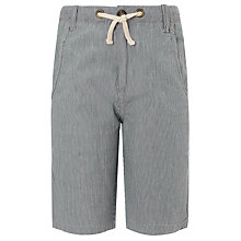 Buy Kin by John Lewis Boys' Ticking Striped Shorts, Navy/White Online at johnlewis.com