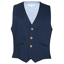 Buy John Lewis Heirloom Collection Chino Sateen Waistcoat Online at johnlewis.com