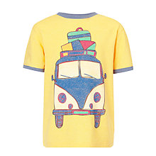 Buy John Lewis Boy Camper Van T-Shirt Online at johnlewis.com