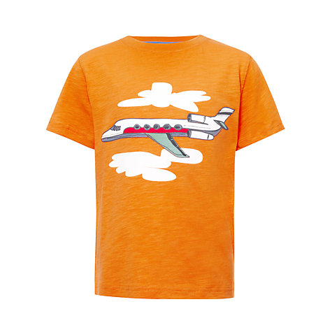 Buy John Lewis Boy Private Jet T-Shirt Online at johnlewis.com