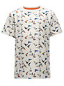 Buy John Lewis Boy Yacht T-Shirt, Cream, 3 years Online at johnlewis.com
